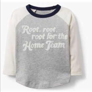 Gymboree Boys Baseball Tee